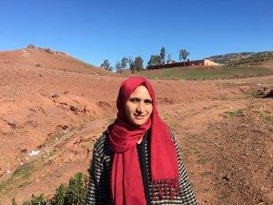 Fadma Amrous from Khenifra, Morocco