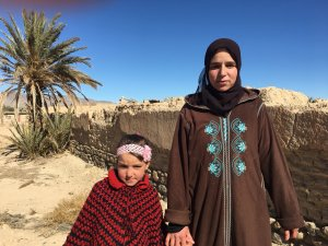 Maimouna Bourchok from Talsint, Morocco