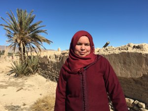 Hafaida Chatbi from Talsint, Morocco