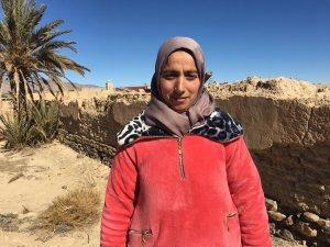 Fatima Ibadissen from Talsint, Morocco
