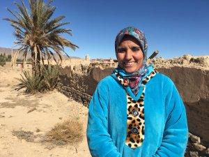 Maimouna Boujmmi from Talsint, Morocco