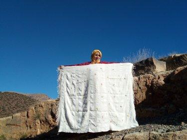 Colored Wool  and Thread Handira
