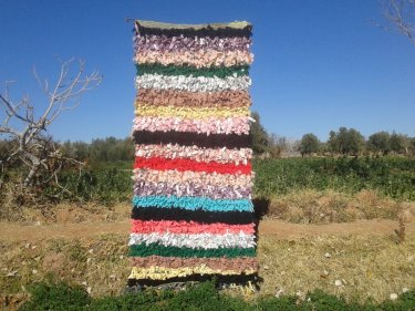 Colored Up Cycled Thread  10251