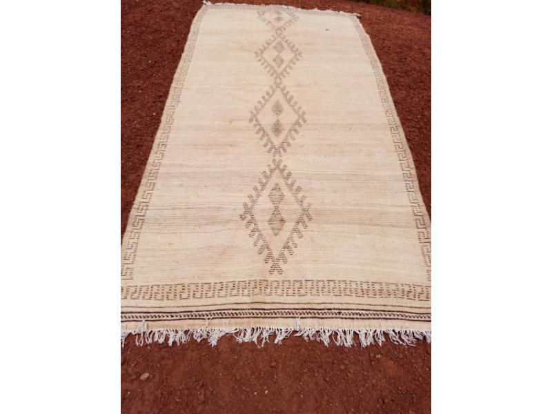 Beni Ourain Rug  Grey, Black Morocco