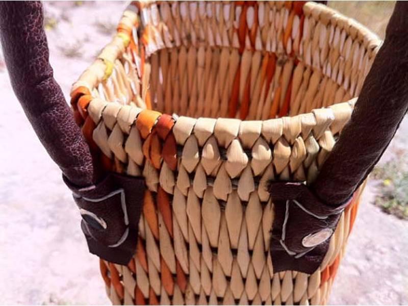 Orange, White Wine Basket