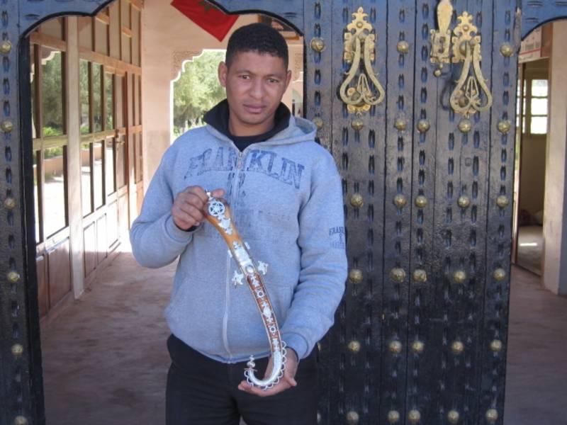White Traditional Dagger