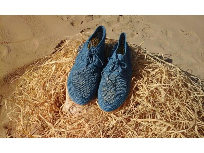 bd66d97bcae6 Blue Boho Shoes