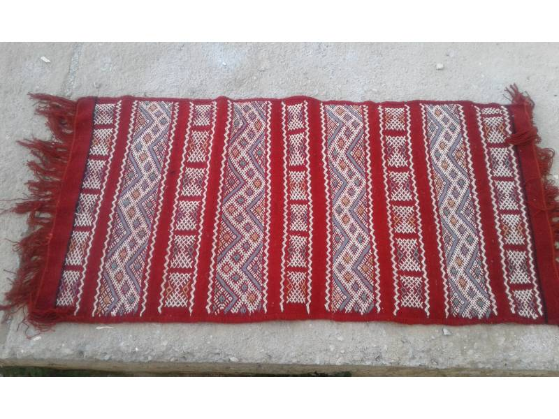 Red White Hanbel Fair Trade Morocco Anou