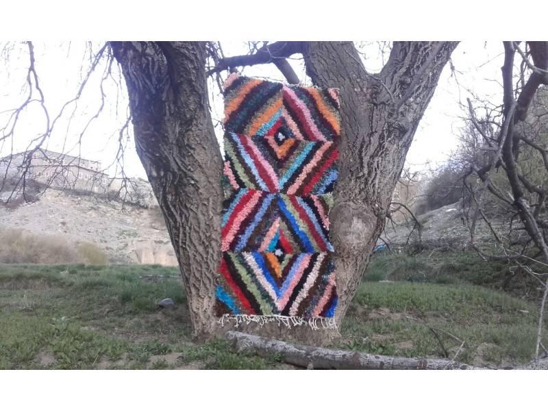 Colored  Beni-Ourain