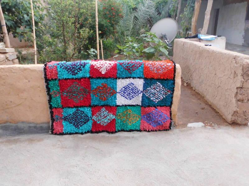 Colored Boucherouite