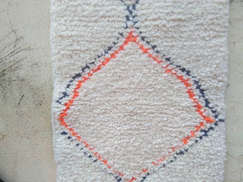 Blue, Orange Pile knot