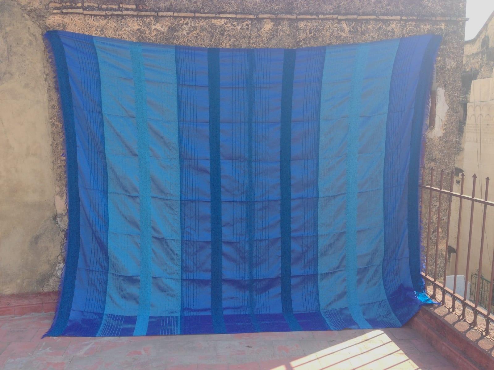 Fabric  Light Blue, Blue Morocco