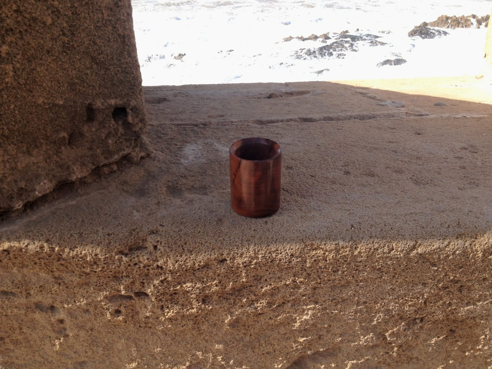 Wood Cup Thuja Wood Red Morocco