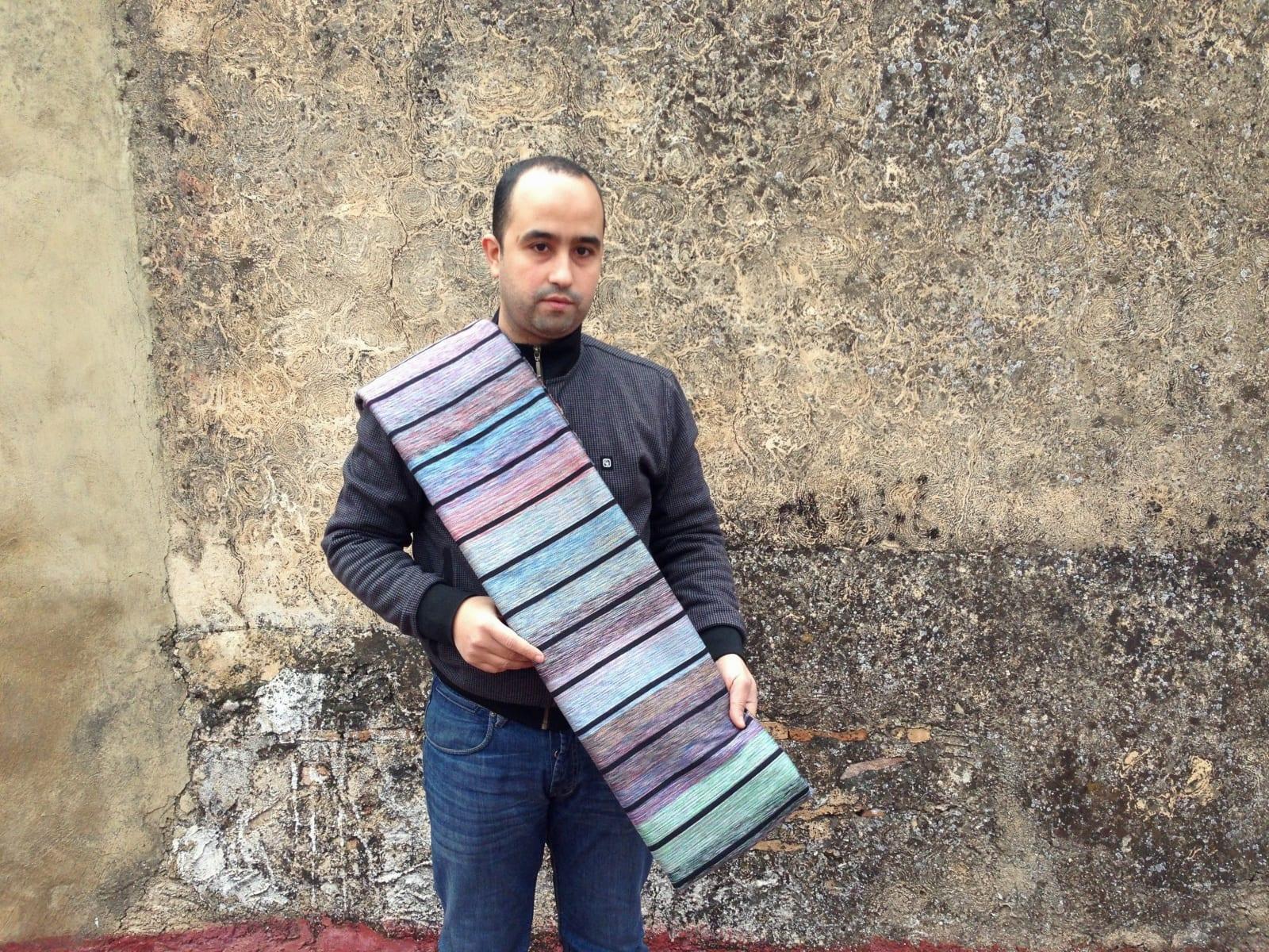 Fabric Cotton string Colored Morocco