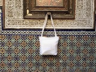 1275 Mobra and Sabra White Morocco