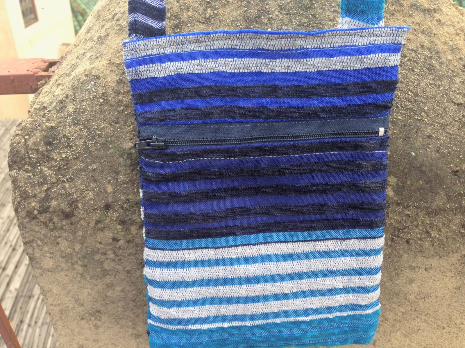 Side Bag Mobra and Sabra Colored Morocco
