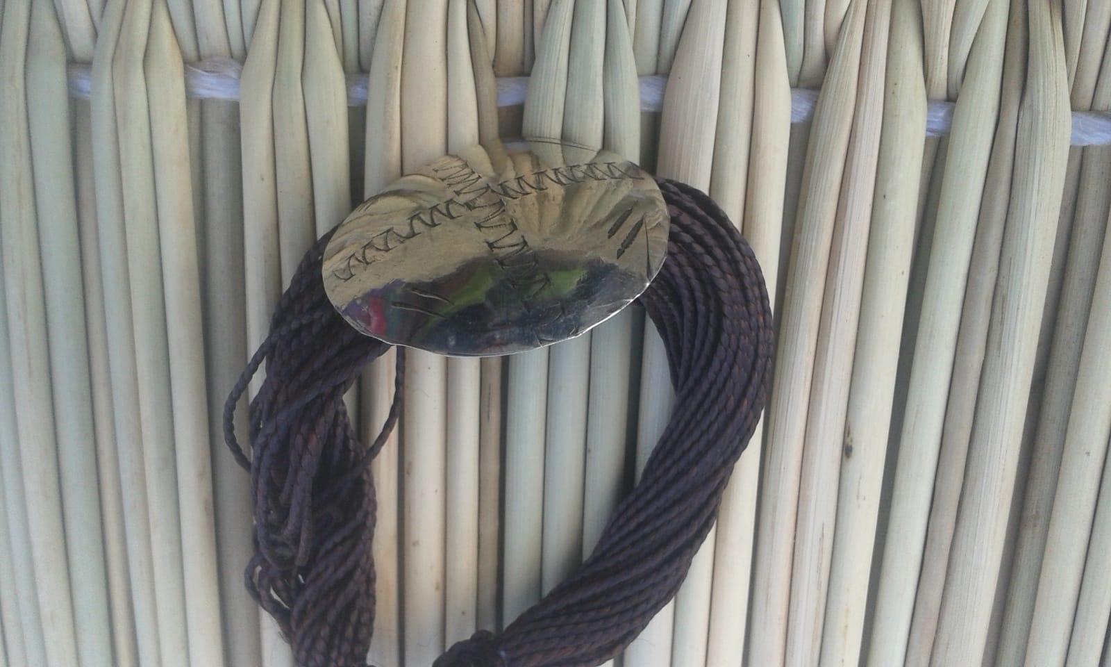 Bracelet Sabra Black, White Morocco