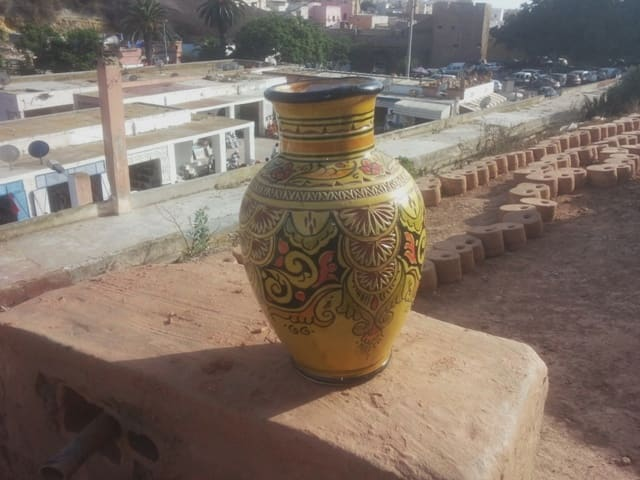 Wall sconce Clay Colored Morocco