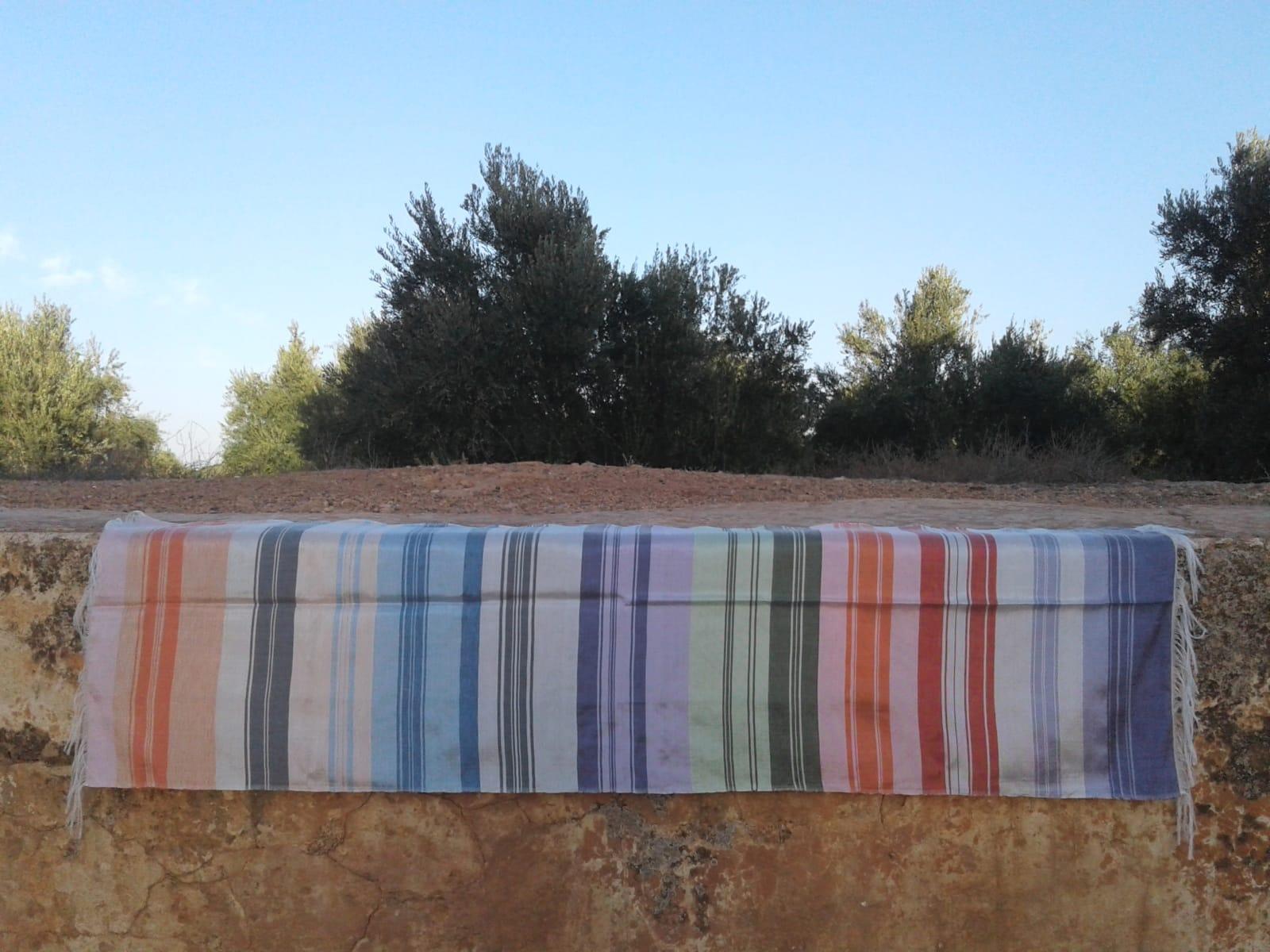 Shawl Sabra Colored Morocco