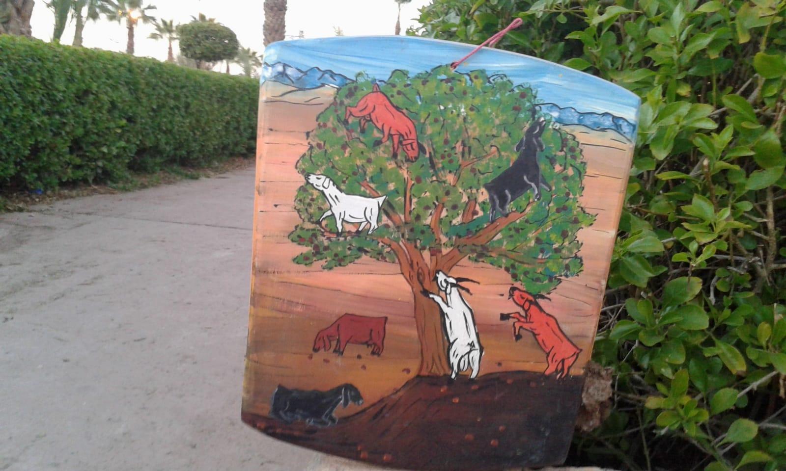 Wood Panel Painting