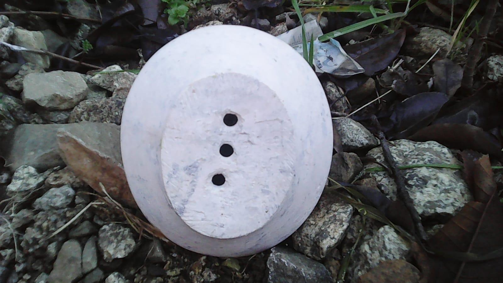 Soap dish Stone White Morocco