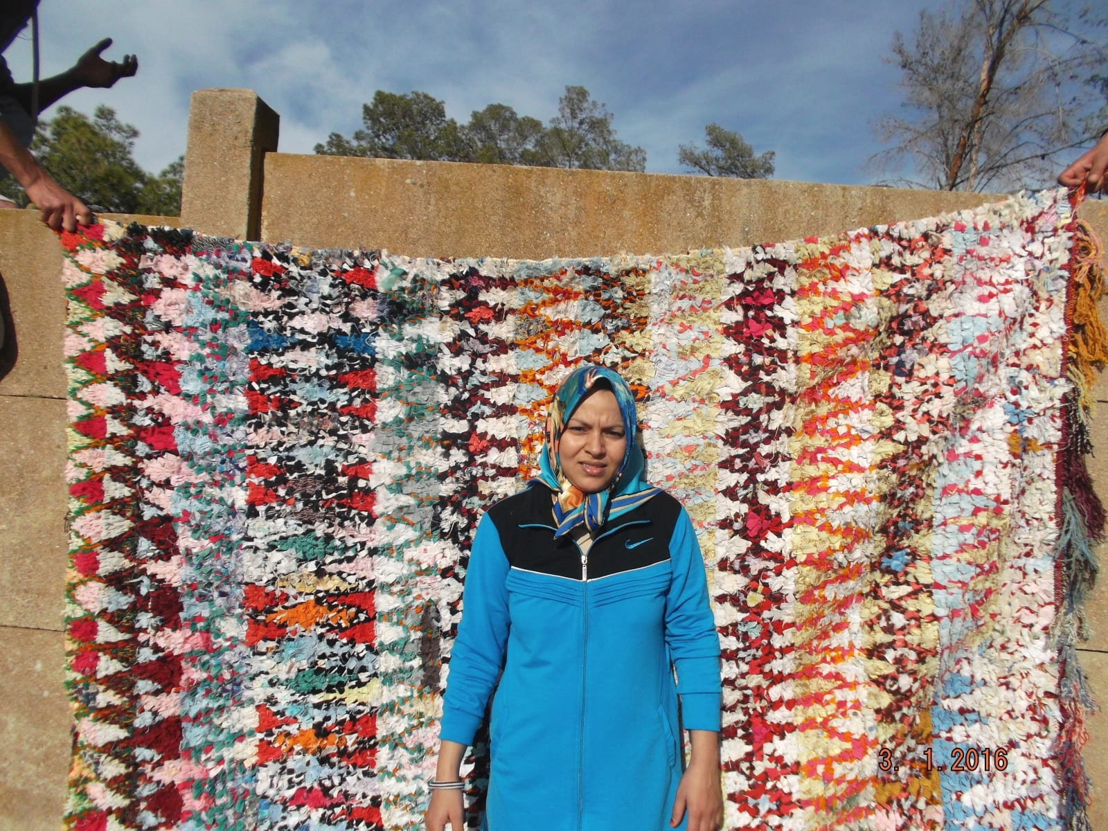 Boucherouite  UpCycled Clothing Colored Morocco
