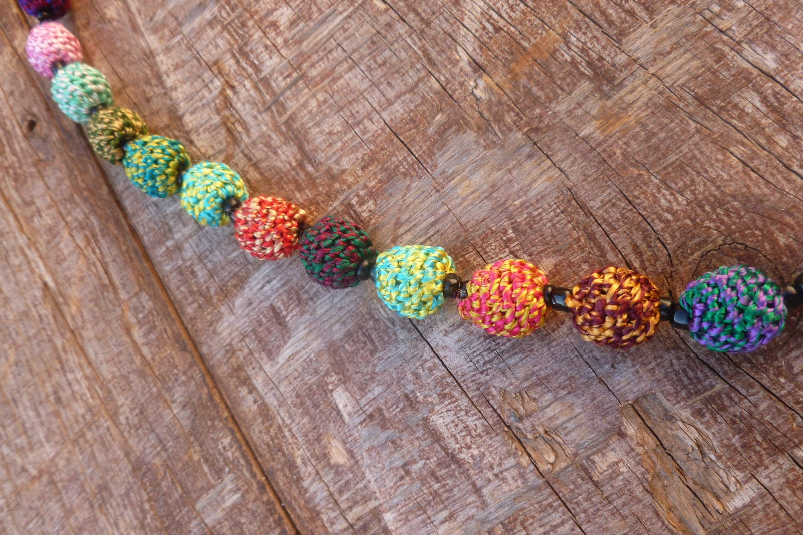 Necklace  Colored Morocco