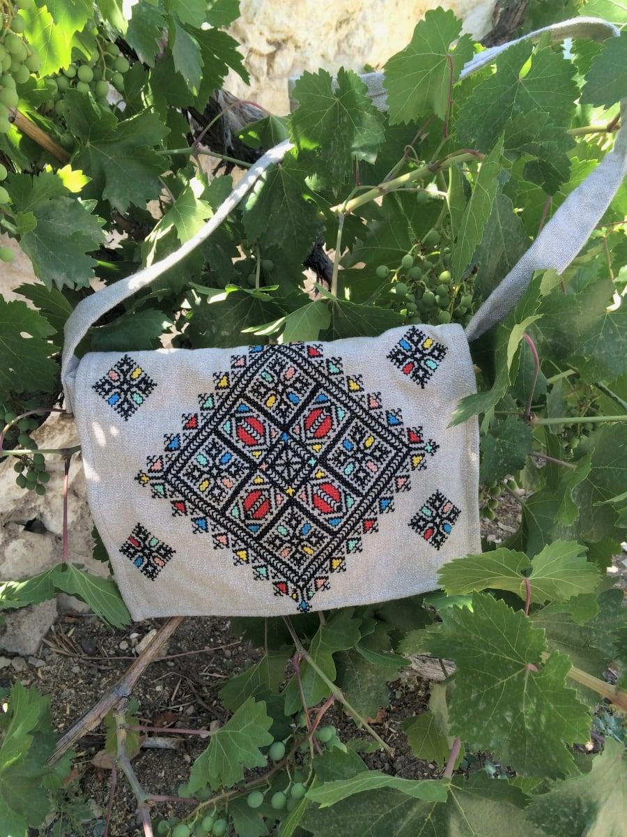 Hand Bag   Colored Morocco