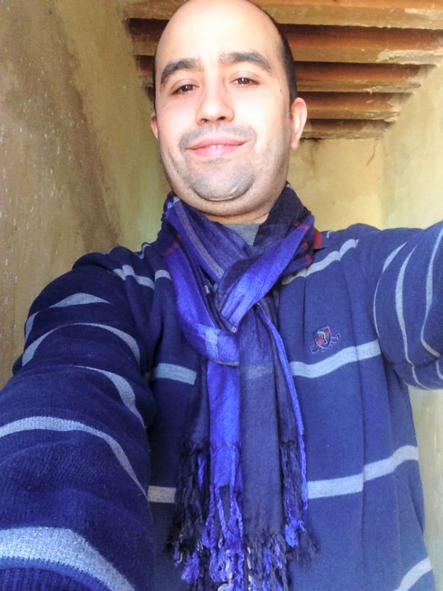 Scarf Sabra Colored Morocco