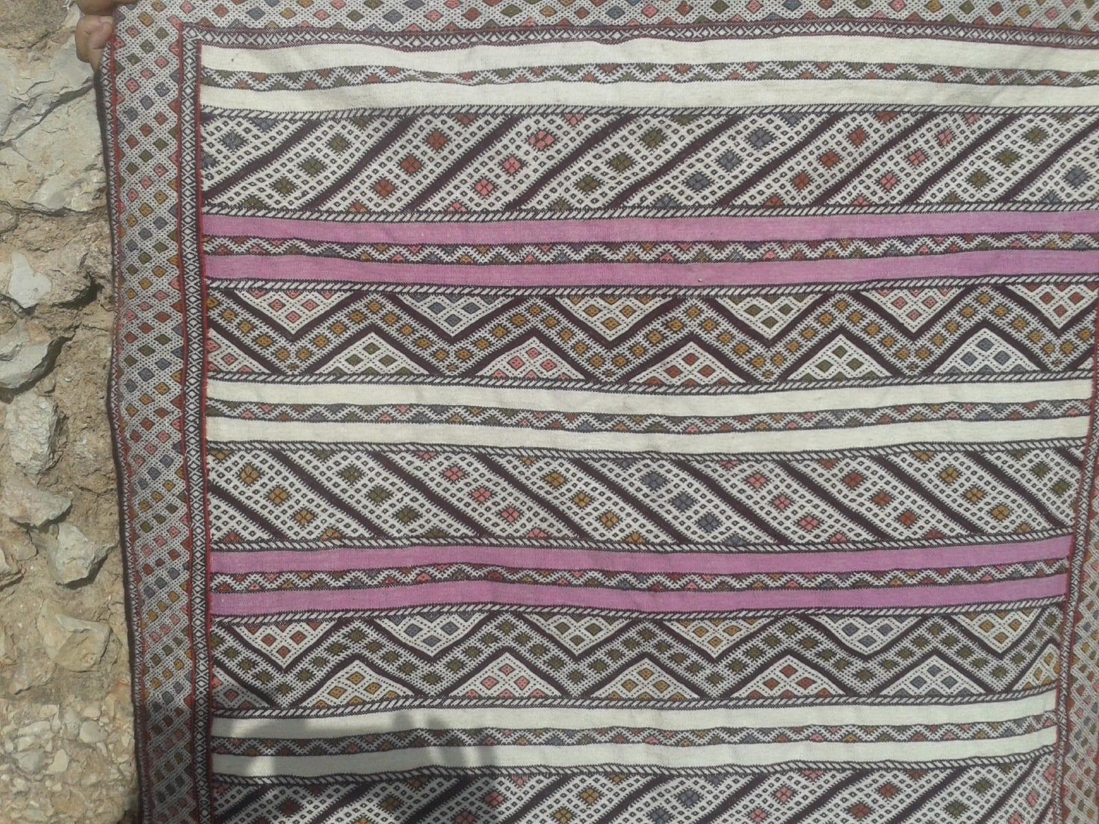 Hanbel  Pink, Black Morocco