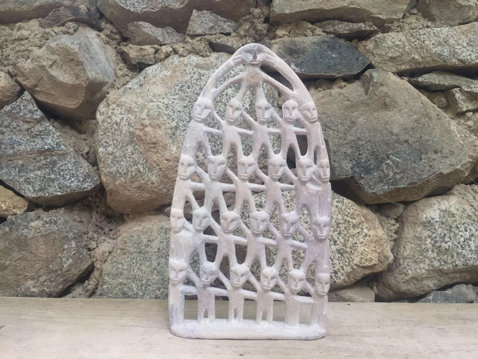 Stone egg Stone White Morocco