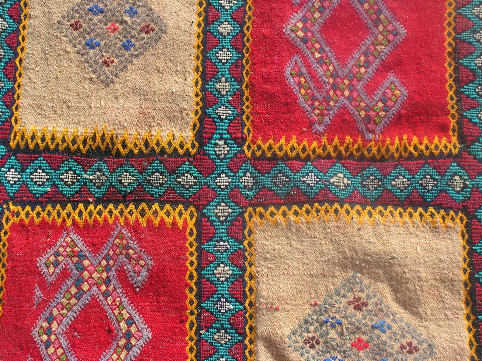 Hanbel Assouf Tadout and Sda Colored Morocco