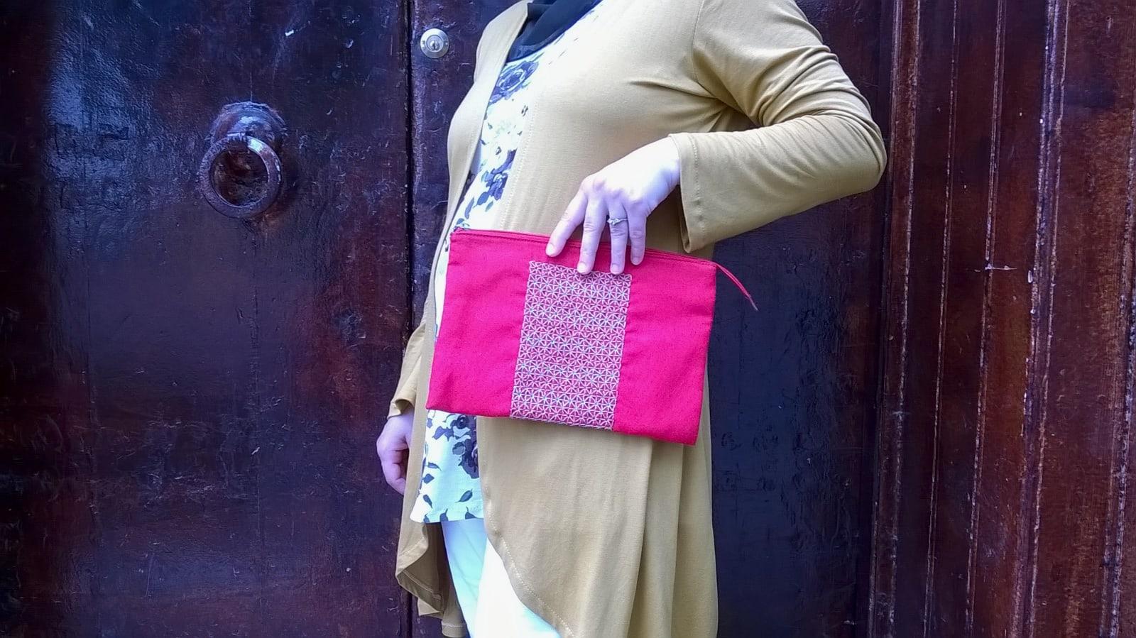 Handbag Sabra Red, Orange Morocco