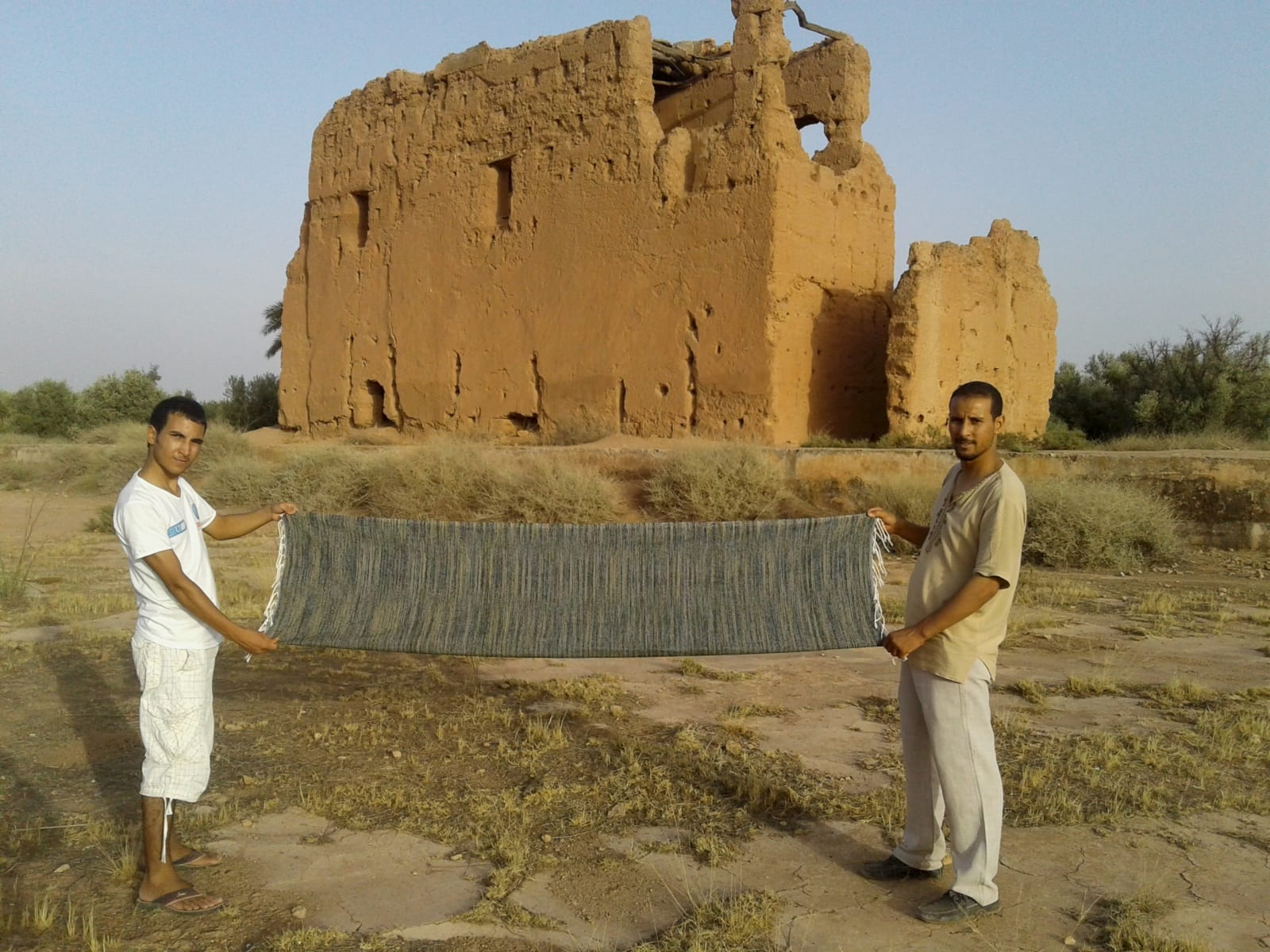 Towel Cotton Thread and Chenille Colored Morocco