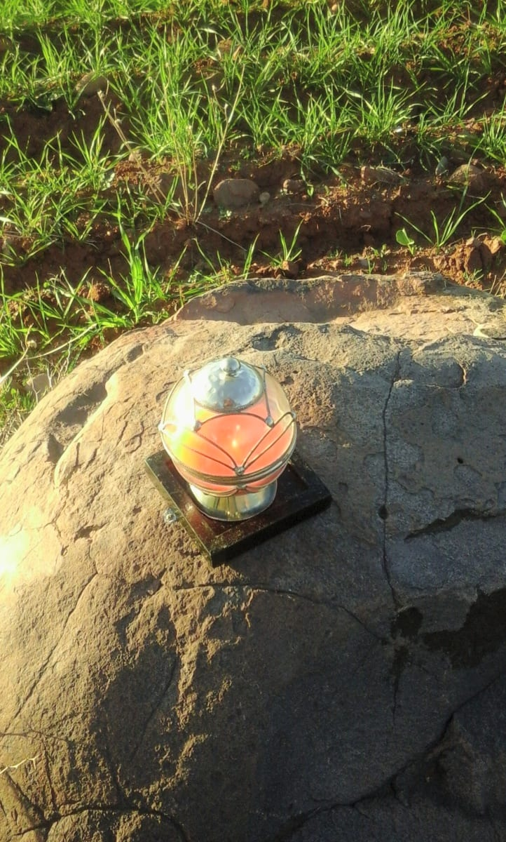 Cubic candle