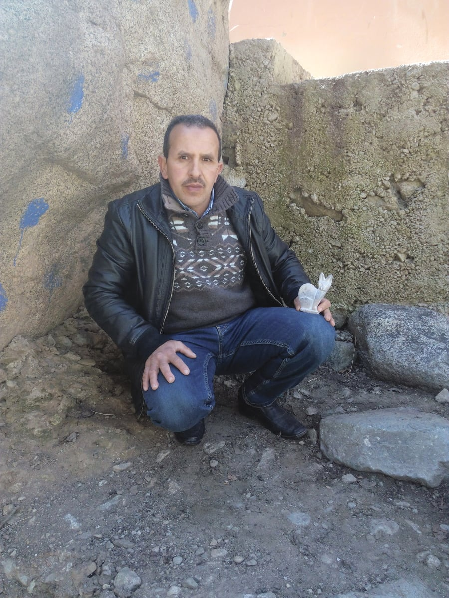 Landscapes Stone White Morocco