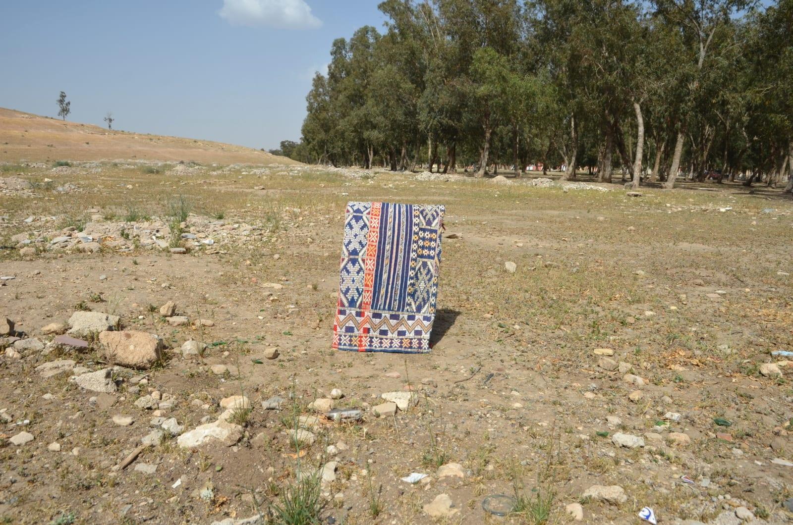 Hanbel  Sedda  and Natural wool Colored Morocco