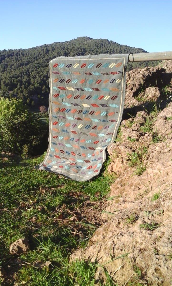 Hanbel Rug Wool Colored Morocco