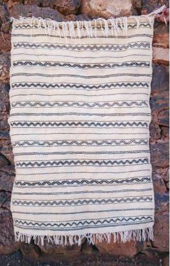 Hanbel  Wool Thread  and Wool Black Morocco