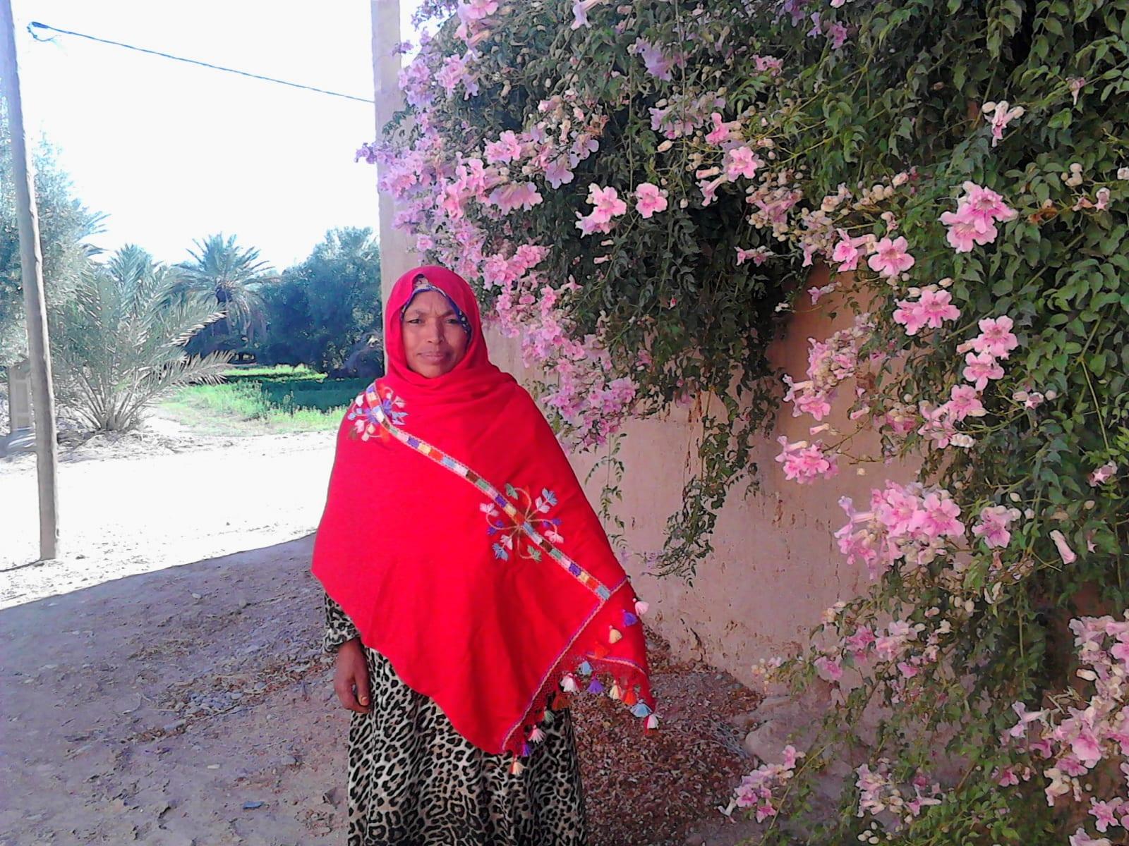 Tahrouit Rayon Fabric Colored Morocco
