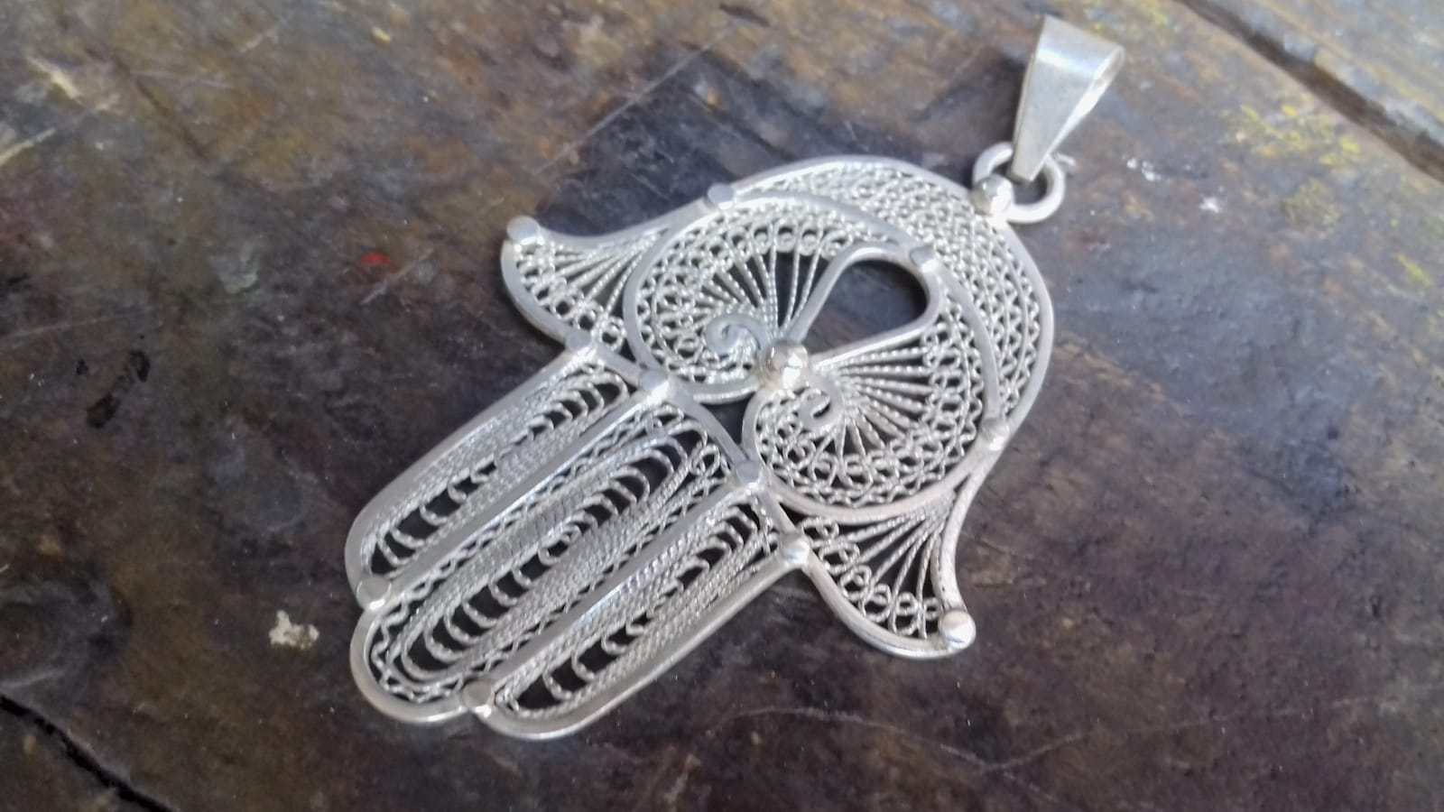 Necklace 800 Tiznit Silver White Morocco