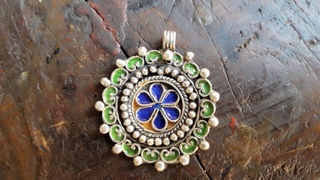 Necklace 800 Tiznit Silver Colored Morocco