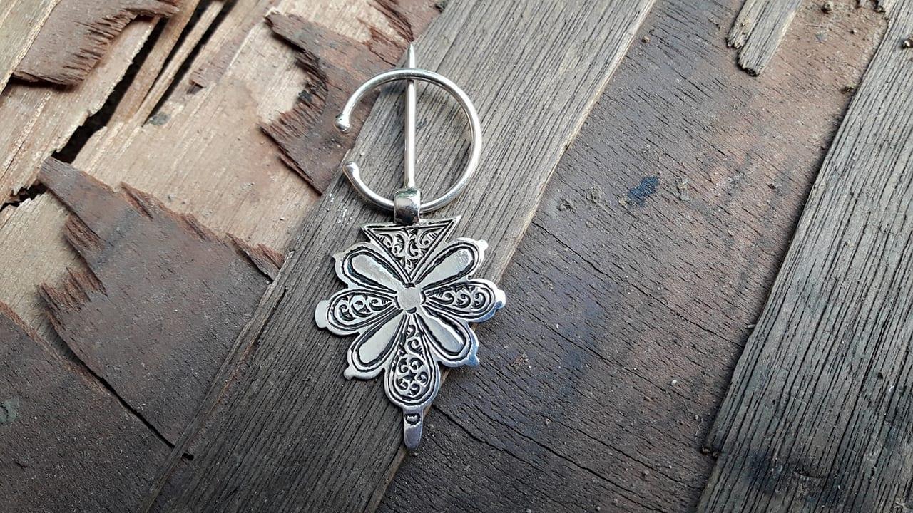 Charm 800 Tiznit Silver Black, White Morocco
