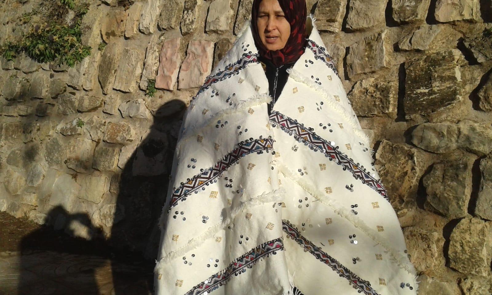 Handiras  Wool Yellow, Black Morocco