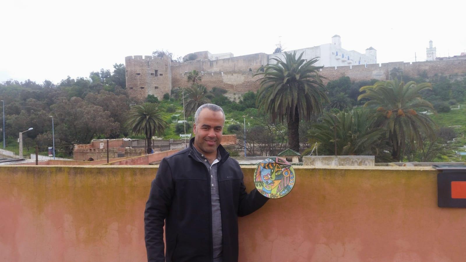 None  Colored Morocco