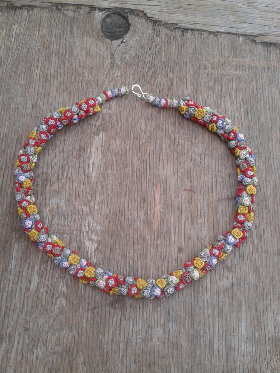 Cluster Necklace