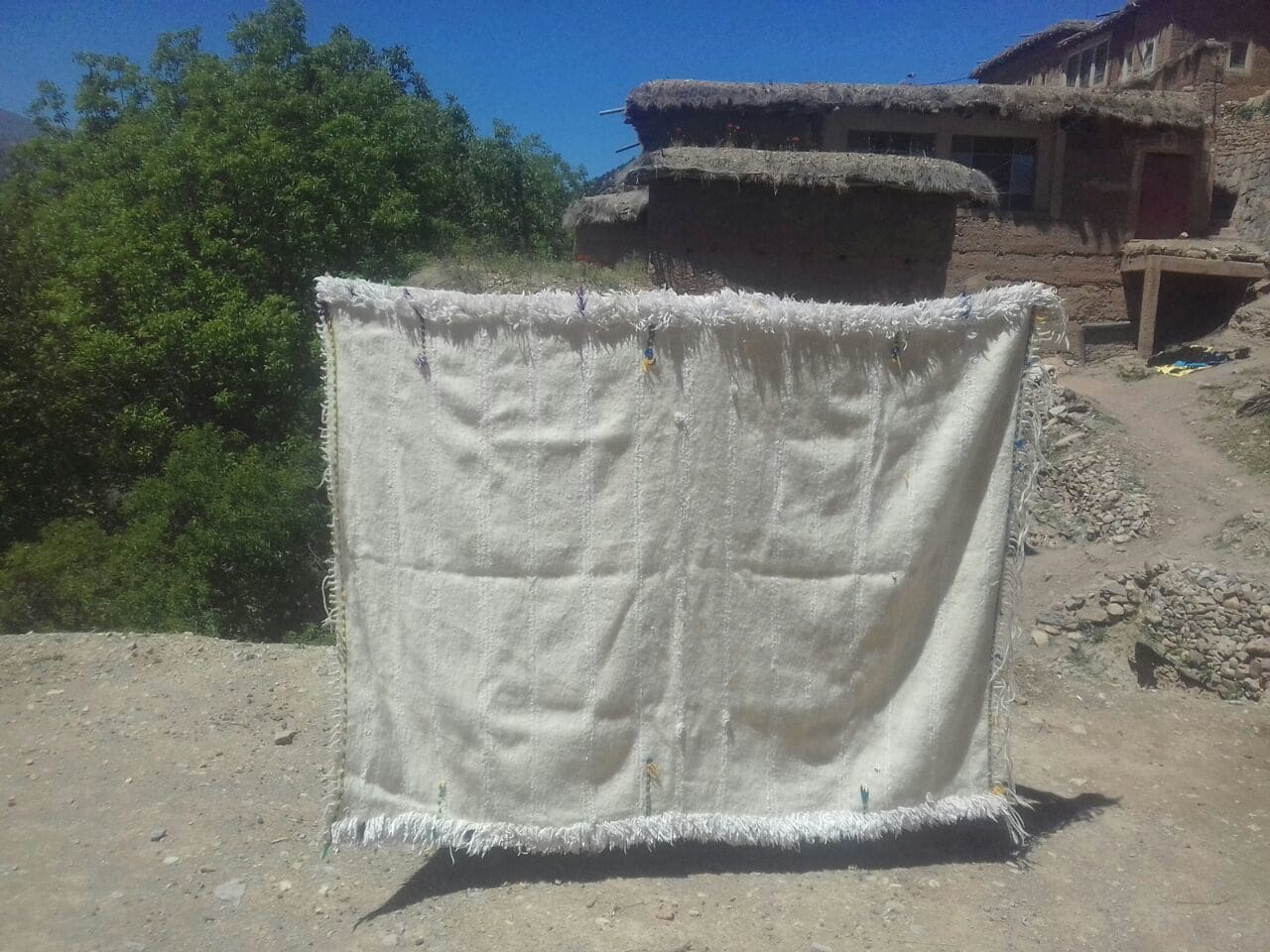 Handira Wedding Blanket
