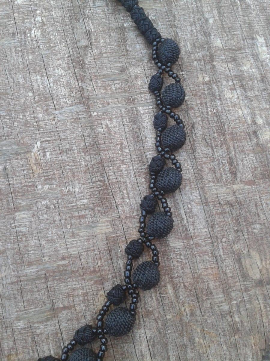 Necklace  Black Morocco