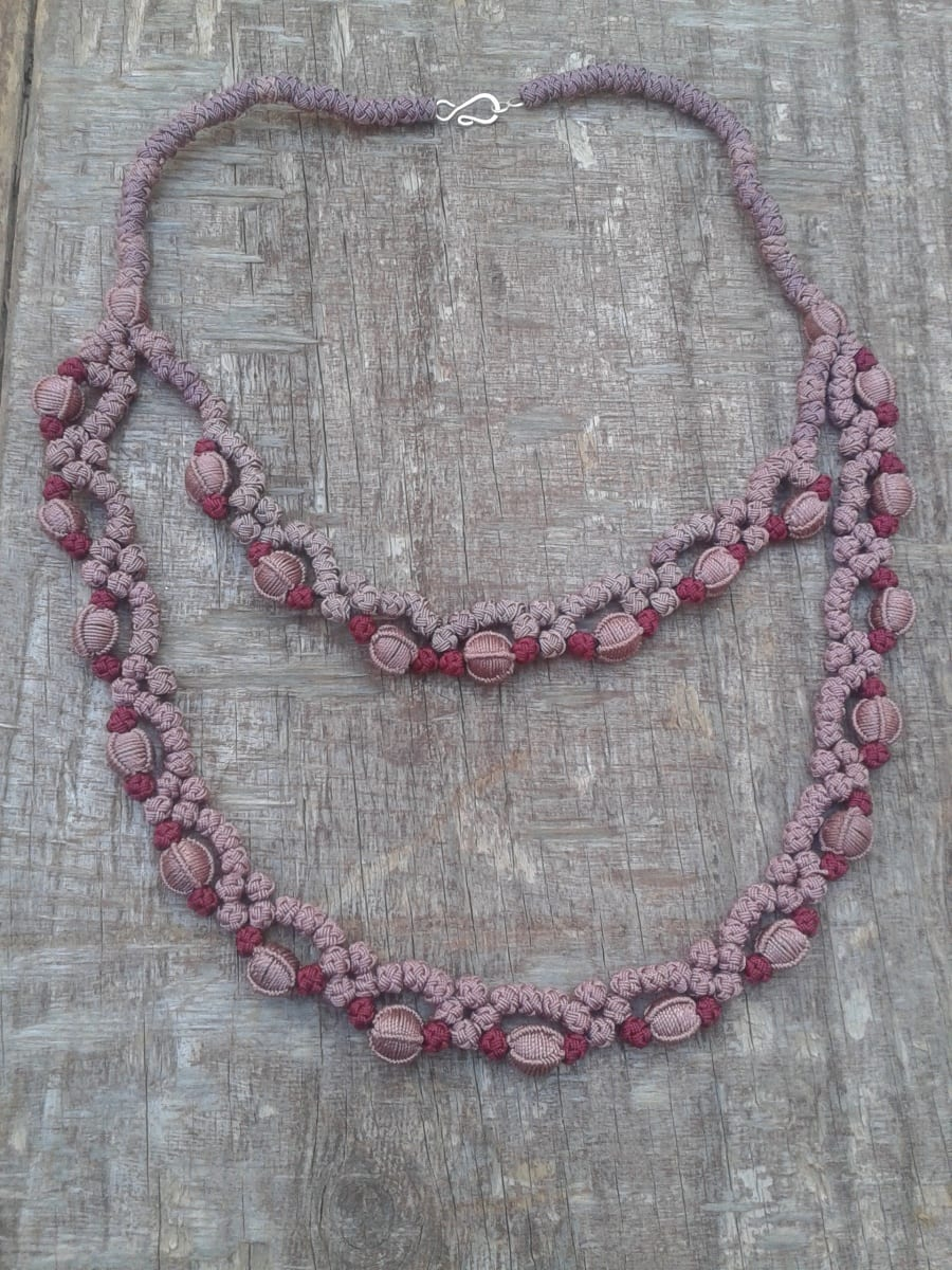 Necklace  Pink Morocco