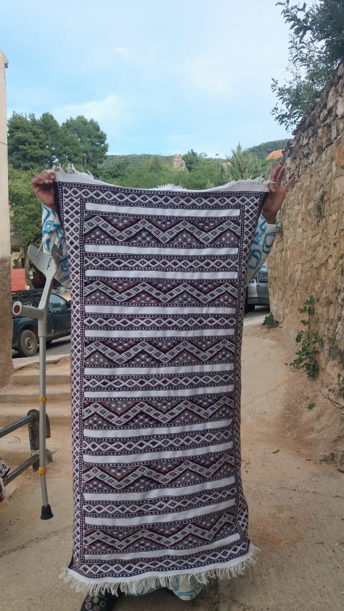 Hanbel Dyed Wool Colored Morocco